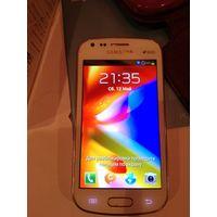 Телефон Samsung SDuos 7563 с чехлом