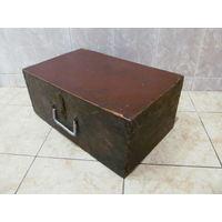 Сундук, ящик старинный малого размера