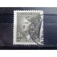 Богемия и Моравия 1942 фюрер 3 кроны