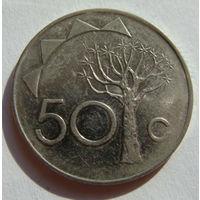 Намибия 50 центов 1993 г