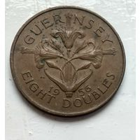 Гернси 8 дублей, 1956  2-9-21