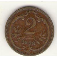 2 геллера 1908 г.