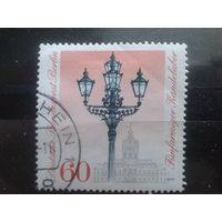Берлин 1979 Уличные фонари Михель-1,4 евро гаш концевая марка серии