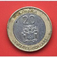 73-30 Ямайка, 20 долларов 2001 г.