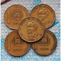Доминиканская Республика 1 песо. Доминикана. Инвестируй выгодно в монеты планеты!