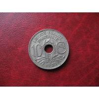 10 сантимов 1935 год Франция