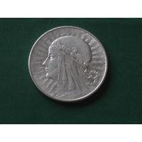 5 злотых 1933 (2) отличный в коллекцию лот vk