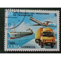 Куба 1986г. Техника.