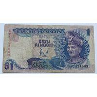Малайзия 1 Ринггит 1989, F, 641