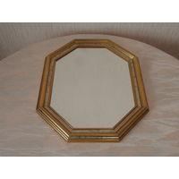 Зеркало деревянная рамка Германия 38 х 48 см.