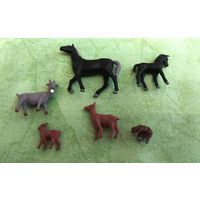 Животные для железнодорожного макета