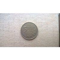 Польша 5 грошей, 2008г. (D-16)