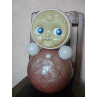 Большая кукла Неваляшка.Рошальский комбинат, 44 см.