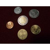 Албания набор 6 монет 1 - 100 лек