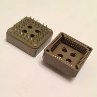 Панелька для микросхем PLCC-44 / 44pin, 1.27 шаг,