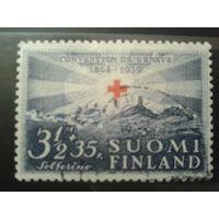 Финляндия 1939 75 лет Кр. кресту 3 1/2 + 35р