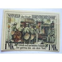 Германия. 1 марка 1921г.