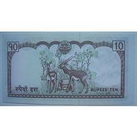 Непал 10 рупий (g)
