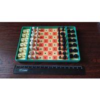 Набор шахмат и шашек дорожных СССР