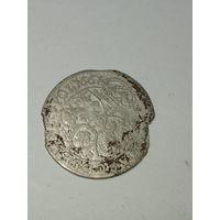 6 грошей Яна Казимира 1667г серебро .