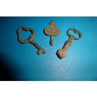 Старинные ключики.