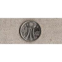 Бельгия 50 франков 2000 год/спорт/ФУТБОЛ(Nv)