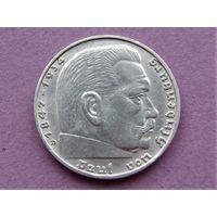 Германия 2 марки 1939 D