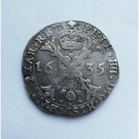 Талер (патагон) Испанские Нидерланды 1635 года