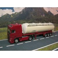 Модель грузового автомобиля DAF (2). Масштаб НО-1:87.