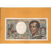Франция 200 франков 1987г. унс