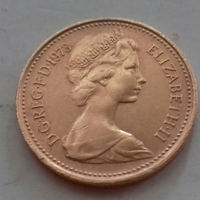 1 пенни, Великобритания 1973 г.