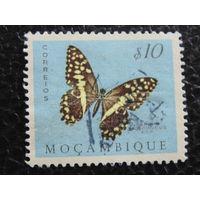 Португальская колония Мозамбик. Бабочка. 1953г.