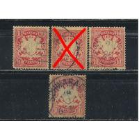 Бавария Германия 1888-1900 Герб Стандарт #56