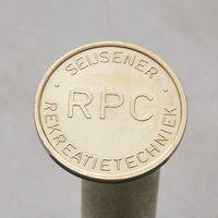 Голландский жетон RPC фирмы SEIJSENER REKREATIETECHNIEK для торговых автоматов