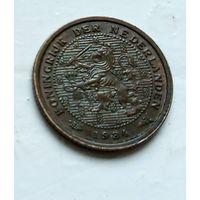 Нидерланды 1/2 цента, 1934 1-11-16