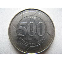 Ливан 500 ливров 1995 г.