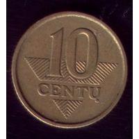 10 центов 2008 год Литва