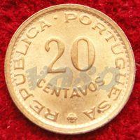 6680:  20 сентаво 1974 Мозамбик
