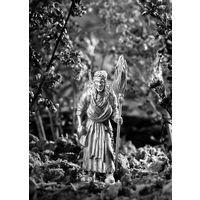 Солдатики оловянные(миниатюра) Баба-Яга
