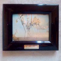 Сальвадор Дали. Искушение святого Антония. миниатюра на металле. Испания
