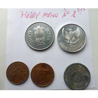 Набор монет - лот 8 /цена за все/ Стартовая цена снижена!!!