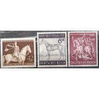 ГЕРМАНИЯ \17\1943 г. 3-Й РЕЙХ.лошадь . MNH