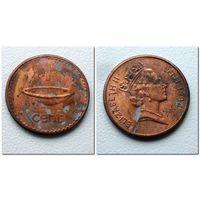 1 цент 1994 года Фиджи - из коллекции