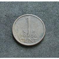 Нидерланды 1 цент 1950