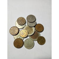 Лот монет РФ
