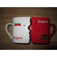 Кружки коллекционные . Пара . Болгария
