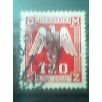 Богемия и Моравия. Служебная марка. 1943г. гашеная