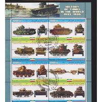 Техника танки история танков Сомали 2011 лот 2   БЛОК