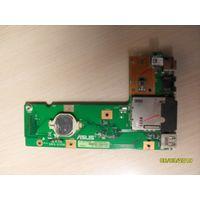 USB, CardReader, LAN, разъем питания, кнопка включения ноутбука Asus K52D