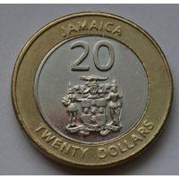 Ямайка 20 долларов, 2008 г.